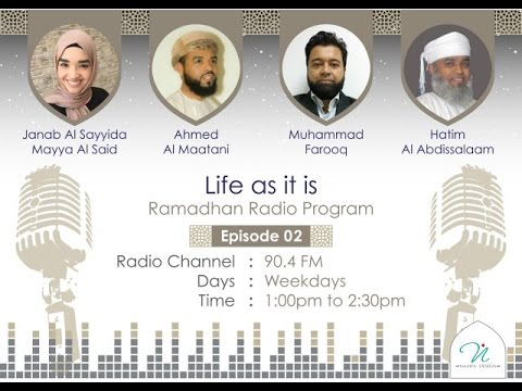 Life as it is Episode 02 - Freedom vs Responsibility feat. Eng Muhammad Farooq