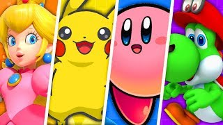 Evolution of Cute Nintendo Characters (1990 - 2019)
