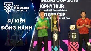 Tiến Dũng, Đức Chinh, Thanh Hào rạng rỡ trong Lễ chào đón Cúp tại Việt Nam | VFF Channel