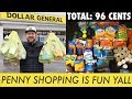 🛒 PENNY SHOP WITH ME at DOLLAR GENERAL - Good Cheap FUN!
