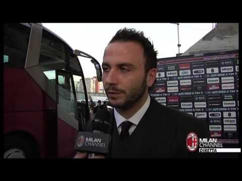 AC Milan | Pazzini: 'Gol importante per me e per la squadra' (with subtitles)