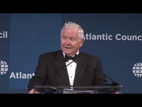 Distinguished Leadership Awards Remarks by Michele Flournoy and Robert Gates