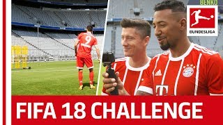 Boateng, Lewandowski & Video Assistant - EA Sports FIFA 18 Bundesliga Free Kick Challenge Special