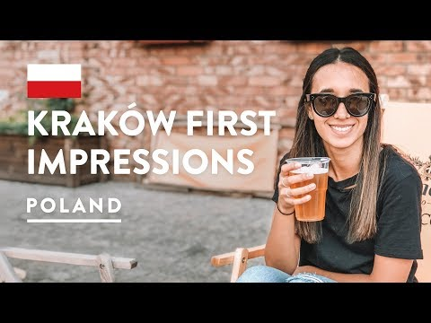 POLAND IS AWESOME - KAZIMIERZ KRAKOW | Jewish Quarter Travel Vlog 2018