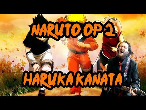 "Naruto OP 2 - ""Haruka Kanata"" Full Size 【Guitar Cover】   Jparecki95"