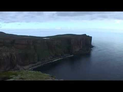 Old Man Of Hoy - BASE 1st Descent - by Roger Holmes