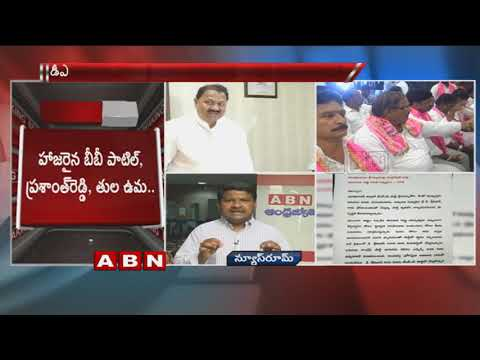 Nizamabad TRS Leaders Complaint to CM KCR against D Srinivas
