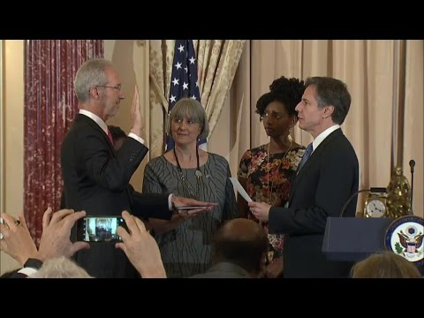 Swearing-in of Ambassador to the Federal Republic of Somalia