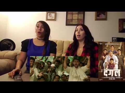 Dangal Official Trailer Cynthia's and Amber Reaction   Aamir Khan Disney thumbnail