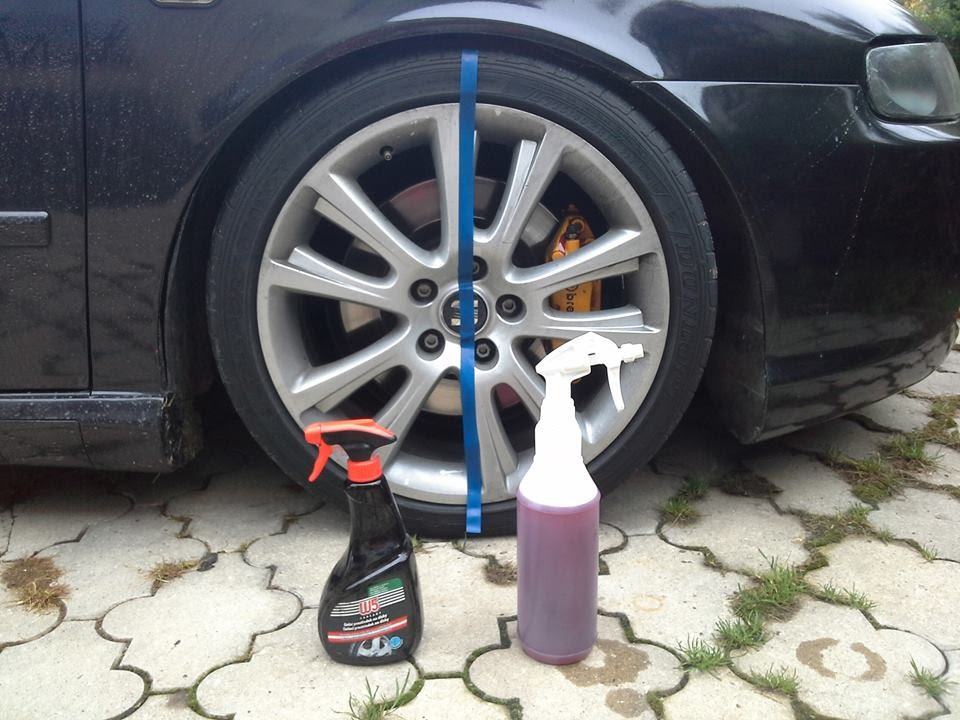 Wheel Cleaning Test W5 Cleaner Amp Valet Pro Bilberry