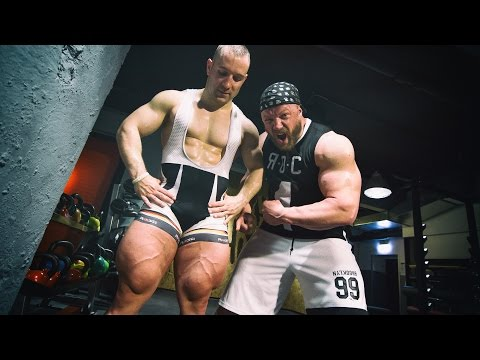 TOTAL LEG DAY Bodybuilder VS Cyclist feat. Robert Foerstemann