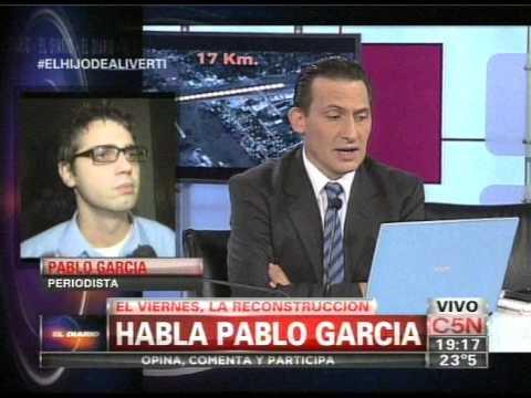 C5N - EL DIARIO: PABLO GARCIA ALIVERTI HABLA CON EDUARDO FEINMANN (PARTE 3)