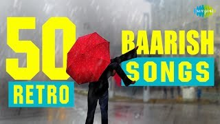Top 50 Monsoon special song   टॉप 50 मानसून  स्पेशल सांग्स   HD Songs   One stop Jukebox
