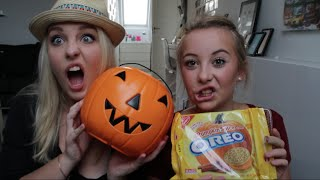 ♡ TASTE TEST - Weird American Candy?! ft. Søster Ida! ♡