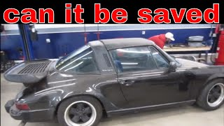 Will it Run? free  porsche 911 that was in a flood pt 2 of 2