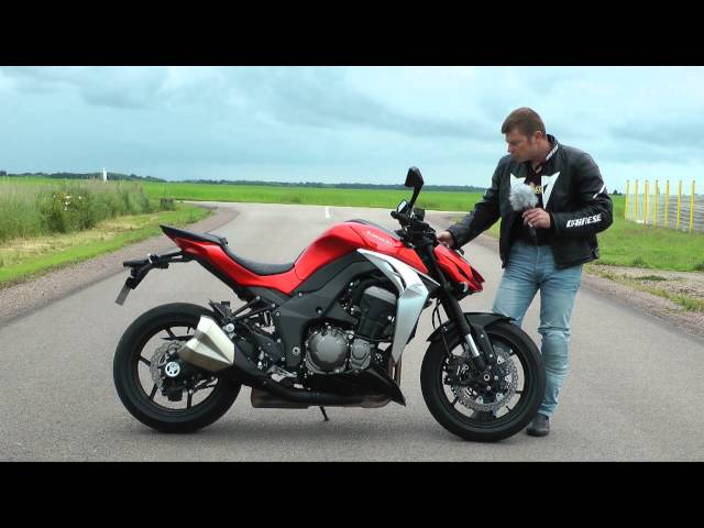Vid�o Essai Kawasaki Z1000 2014 : La brute essentielle !
