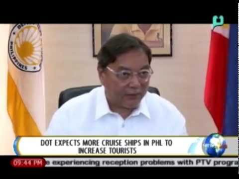 [NewsLife] DOT expects more cruise ships in Phl. to increase tourists [07|18|14]