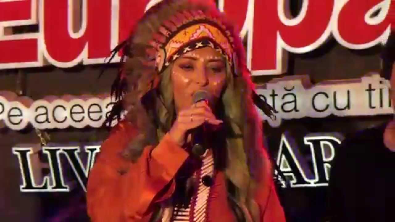 Delia  - Vino la mine LIVE in Garajul Europa FM