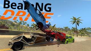 BeamNG Drive - GTA Ramp Buggy Spotlight - The Perfect Crash Car - BeamNG Drive Gameplay Highlights