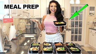 MEAL PREPPING FOR OLYMPIA 2017 | Grocery Haul