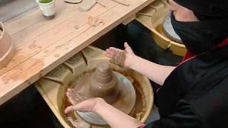 Japanese Traditional Pottery by Ninja - Tecnics of Electoric Wheel Vol.2