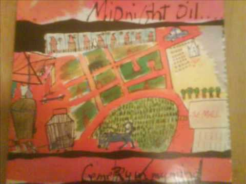 Midnight Oil - Cemetery In My Mind