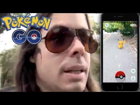 Dross juega Pokemon Go (Fan made)