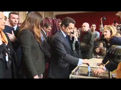 Raw Video: Crucial Presidential Vote in France