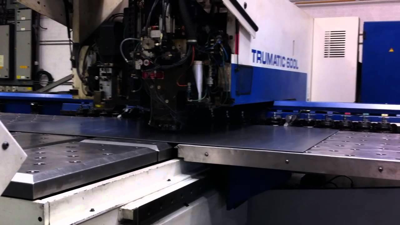 showroom trumpf punching tools