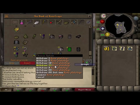 Wilderness Iron Man: Bank Video 1