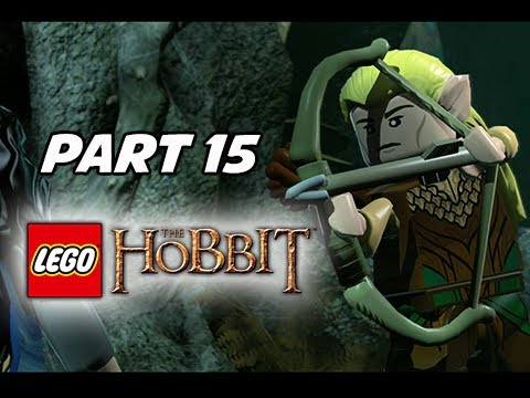 LEGO: The Hobbit Walkthrough Part 15 - Legolas & Tauriel (PS4 1080p Gameplay)
