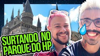 SURTANDO NO PARQUE DO HARRY POTTER | Diva Depressão
