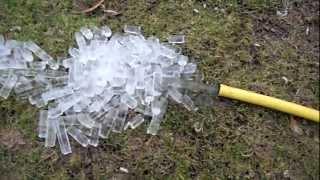 Hacer cubitos de hielo con una manguera