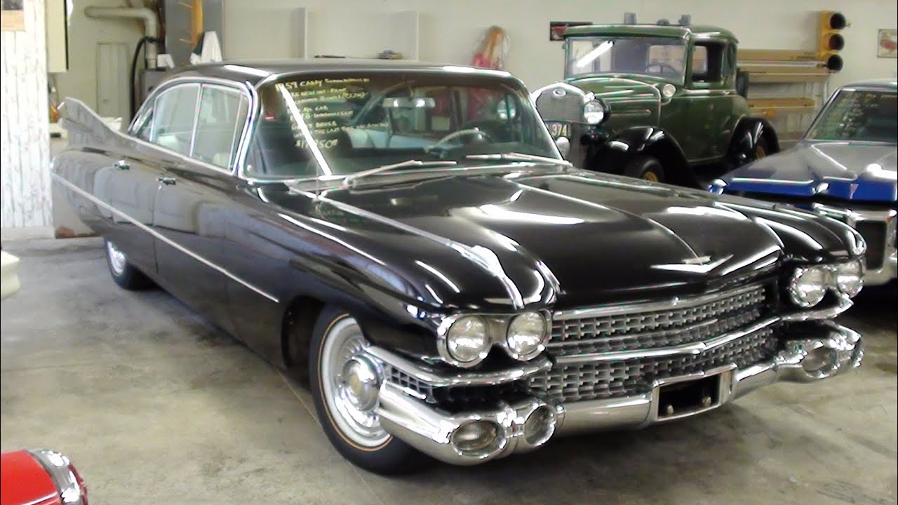 1959 Cadillac Sedan De Ville Huge Fins And Tons Of