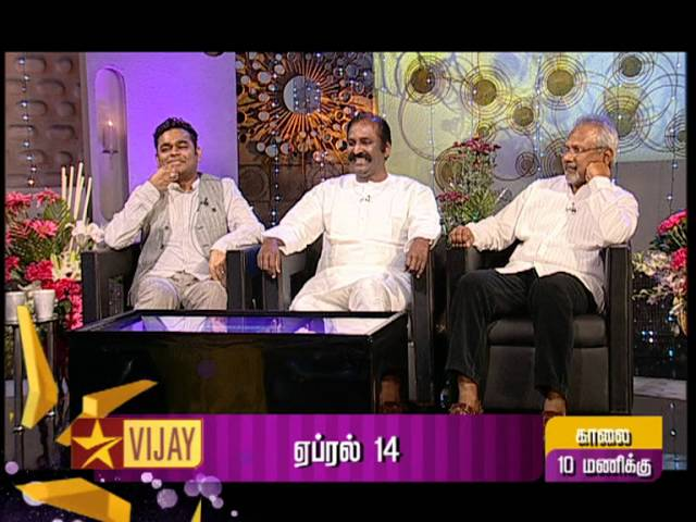 Koffee with DD - AR Rahman, Vairamuthu and Manirathnam | Promo 2