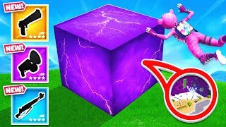 KEVIN the CUBE Hide and SEEK *NEW* Game Mode in Fortnite Battle Royale
