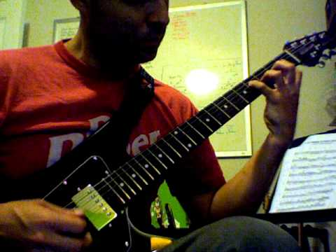 Ed Bickert solo transcription - I'm Old Fashioned