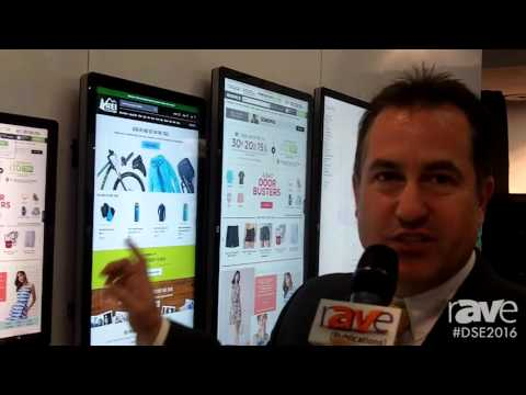 DSE 2016: elo Features 10 Inch to 70 Inch Touch Screen Solutions