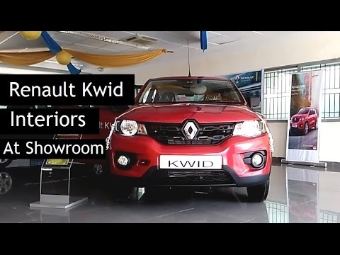 Renault Kwid | Interiors & Exteriors At Showroom | 2015 - 2016 | India