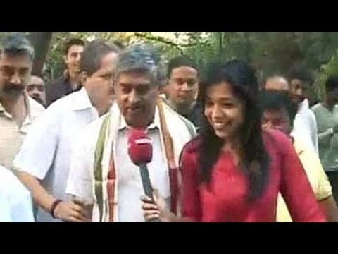 Burning calories with Nandan Nilekani in Bangalore