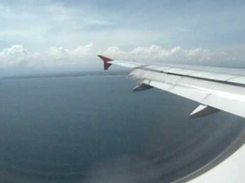 Airasia Landing in Bali