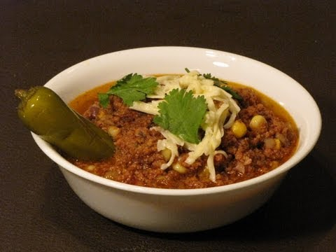 Easy Chili Recipe   Slow Cooker Chili