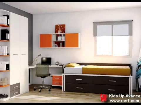 Dormitorio juvenil muebles ros youtube for Muebles escritorios juveniles
