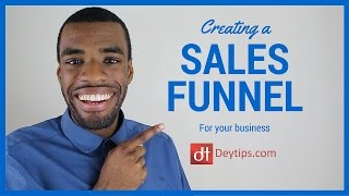 Creating a sales funnel for your business