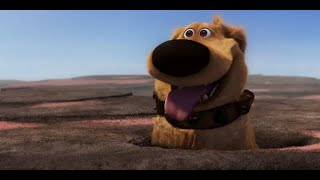 """Best """"Dug"""" scenes from UP (2009) - Funny talking dog"""