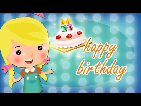 Happy Birthday Song For Children - Cute & Funny Friends - Best Birthday Songs For Kids video