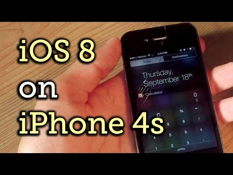 The Good & Bad About Installing iOS 8 on Your iPhone 4S