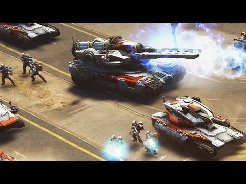 Command & Conquer - Vorschau / Preview zum Free2Play Generals 2 (Gameplay)