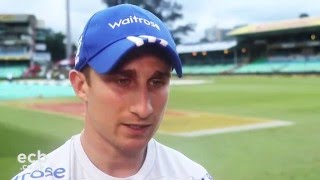 James Taylor hits 70 - Day 1 - South Africa v England, Durban