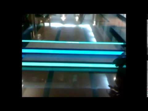 Electroluminescent EL MATT  for Dubai Health Authority Headqarter - Future of Advert